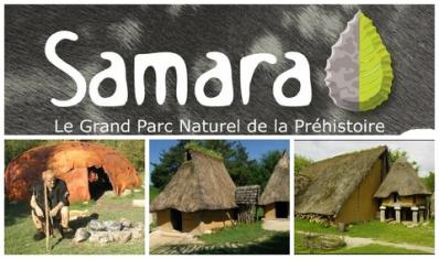 Parc archéologique Samara Amiens